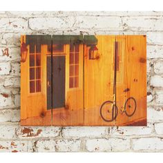 Curb Appeal 22.5x16 Indoor/ Outdoor Full Color Wall Art