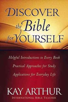 Precision Series Discover The Bible For Yourself