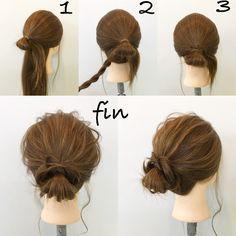 大人可愛いメッシーバンアレンジ 新谷 朋宏 5 Minute Hairstyles, Work Hairstyles, Casual Hairstyles, Braided Hairstyles, Hair Upstyles, Hair Arrange, Brunette Color, Hair Setting, Hair Game