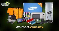 ¡Encuentra las mejores promociones en un sólo lugar y compra desde la comodidad de tu casa! Da clic aquí en la foto y sorpréndete con la gran variedad de artículos que tenemos para ti.  Walmart.com.mx, Hacemos Clic!