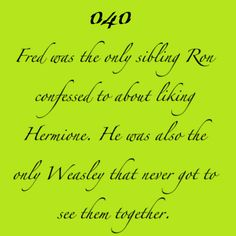 Romione Facts - harry-potter Fan Art... We'll I'm gonna go cry now.