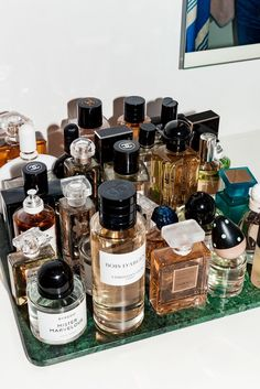 allll of the perfume