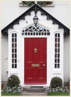 Love is a red front door