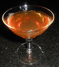 Harry Palmer:  1 1/2 oz Rittenhouse 100 Rye 2/3 oz Martini & Rossi Sweet Vermouth (Cocchi) 1/2 oz Suze (Salers Gentiane Liqueur)  Stir with ice and strain into a cocktail glass or coupe and garnish with a cherry.