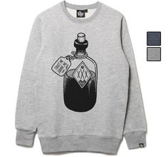 Mcbess: SATAN BOTTLE SWEATSHIRT