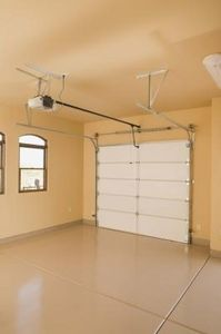 Idea: painting the inside of the garage a bright color! Doesn't look so dingy & doesn't have to be perfect. But makes a nicer space & easy to find things..
