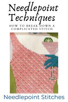 Needlepoint Designs, Needlepoint Stitches, Needlepoint Canvases, Needlework, Cross Stitch Kits, Cross Stitch Designs, Cross Stitch Patterns, Folk Embroidery, Embroidery Stitches