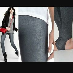 Aiko liquid leggings Awesome leggings by aiko. Super comfy but have that rocker cool. Gun metal silvery metallic. Made in USA. Never worn.   Discounts on bundles Prices are negotiable No trades Aiko Pants Leggings