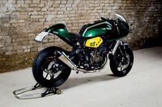 Racing Cafè: Yamaha XSR 700 Yard Built by WS-Motorradtechnik
