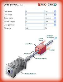 MotorSizer Overview   Galil