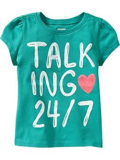 Graphic Short-Sleeve Tees for Baby | Old Navy