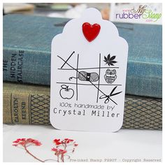 Personalized+Crochet+&+Knitting+Stamp+Matching+by+myrubberstamp,+$32.00