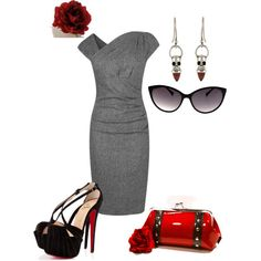 """Rockabilly at Work"" by moonshinebaby on Polyvore"