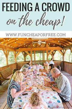 Feeding a crowd doesn't have to cost a lot! In this post you'll find party ideas, menus, recipes, budget guidelines, and entertaining must haves.