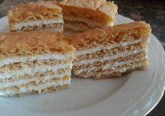 Orosz mézes (medovik) | Rózsamama konyhája receptje - Cookpad receptek Vanilla Cake, Baking, Desserts, Cakes, Recipes, Advent, Dios, Easy Meals, Tailgate Desserts