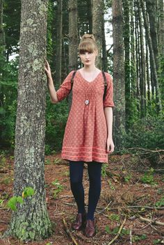 Outfit - fair trade cotton print dress