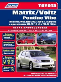 Download free  TOYOTA motors 1ZZFE, 2ZZGE, 3ZZFE, 4ZZFE repair manual, maintenance and
