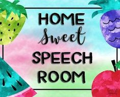 Home Sweet Speech Ro