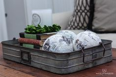 Sharing beautiful holiday decor I found at AtHome stores.  Sparkly Farmhouse decor at our home this holiday season!