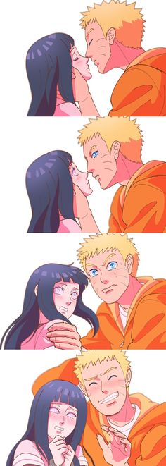 Naruhina .... Naruto and hinata... Gosh!! But they are adorable...