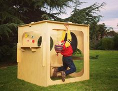 Little Green Room – contemporary, eco-friendly cubby houses for kids