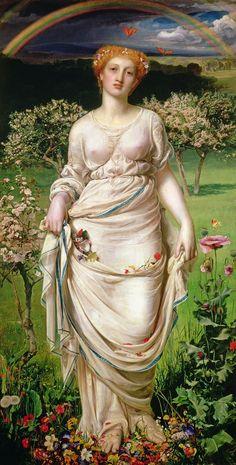 Gentle Spring [Frederick Sandys]