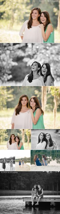 Morgan & Danielle! Montgomery, Alabama Twin Senior Photographer » Allison Hilyer Photography