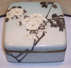 Early Namikawa Sosuke Japanese Meiji Period Cloisonné Enamel Box