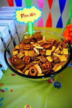 Yo Gabba Gabba party food!