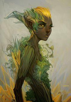 Elven girl Elementals t Fantasy art Fantasy concept art Dnd Characters, Fantasy Characters, Fantasy Kunst, Fantasy Art, Magical Creatures, Character Design Inspiration, Creature Design, Fantasy World, Amazing Art