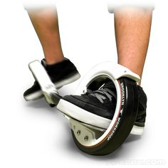 I predict this is the next big thing here in America! Skatecycle - If Tron made skateboards. How cool is that?!?!