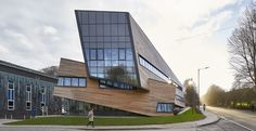 The Ogden Centre for Fundamental Physics by Studio Libeskind in Durham, United Kingdom