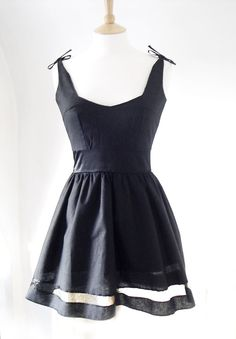 Vintage Inspired Dress Gothic Party Dress UK Size by Dollydripp, £78.00