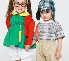 Resultado de imagen para disfraz EN PAREJAS NIÑOS