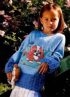 вязание спицами для детей с фото