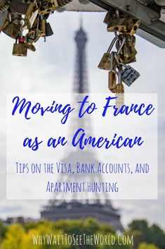 Moving to France as an American can seem like a dream. But it can also be a nightmare of bureaucracy. Learn how to navigate applying for a visa, setting up a bank account and finding an apartment if it is truly your dream to live in France! #France #whywait