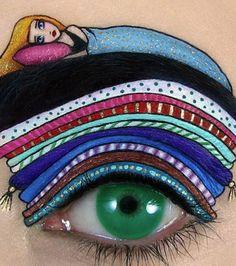 15 photos sublimes de maquillage sur les paupières