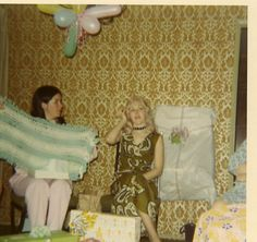 Mom With Blanket - March 1972