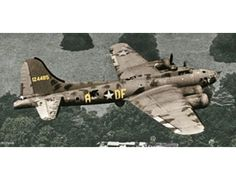 The Revell Boeing B-17F Flying Fortress Memphis Belle Model Kit in 1/72 scale from the plastic aircraft models range accurately recreates the real life US heavy bomber aircraft flown during World War II.