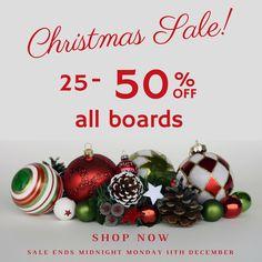 Charts Massive Christmas Sale!