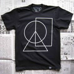 Peace Is Simple Men's Tee Black by Random Objects