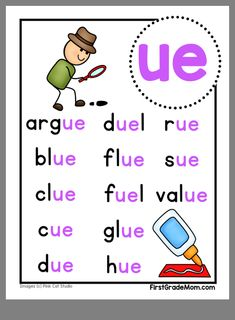 Phonics Sounds Chart, Phonics Chart, Phonics Rules, Phonics Words, Reading Comprehension Worksheets, Phonics Reading, Teaching Reading, First Grade Phonics, First Grade Writing