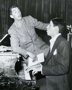 Dean Martin and Jerry Lewis in the Colgate Comedy Hour, 1950s