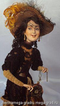 Сонька - Золотая ручка (продана) - портретная кукла. МегаГрад - online выставка-продажа авторской ручной работы