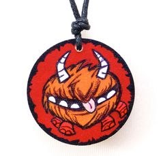 Don't Starve Chester Inspired Handmade Pendant Necklace