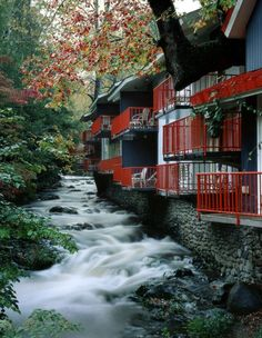 Best Western Zoder Inn in Gatlinburg, TN We have stayed here before on vacation. Sitting out on the balcony listening to the water is so relaxing. Loved it!