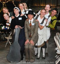 Von Trapp Family Group Halloween Costume