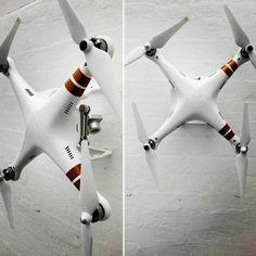 #djiphantom #drone #art #design on the wall. No more stored away in the #case. #wallart #walls #drones #home #tech #inspiration #diy #dronepilotendk