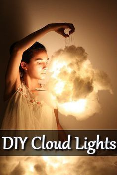 Imagine this cloud lamps in your bedroom, or as a wedding decoration. Where they are just makes you feel just one step close to heaven. As impressing as it looks it is a very simple DIY projects, h...