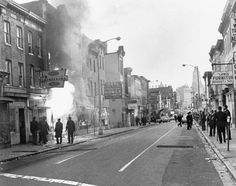 """How Lyndon Johnson Responded To Baltimore's Previous Riot """"What did you expect? I don't know why we're so surprised. When you put your foot on a man's neck and hold him down for three hundred years, and then you let him up, what's he going to do? He's going to knock your block off."""""""